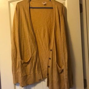 Mossimo Supply Co. Sweaters - Mustard Cardigan